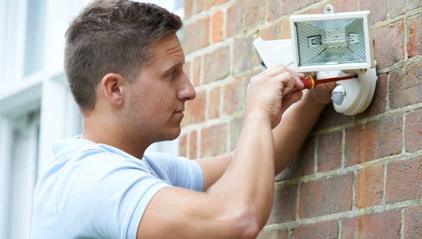 security lighting, burglar alarms and fire alarms, liverpool